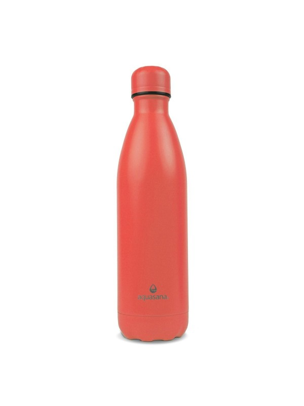 750ML STAINLESS STEEL INSULATED BOTTLE - RED