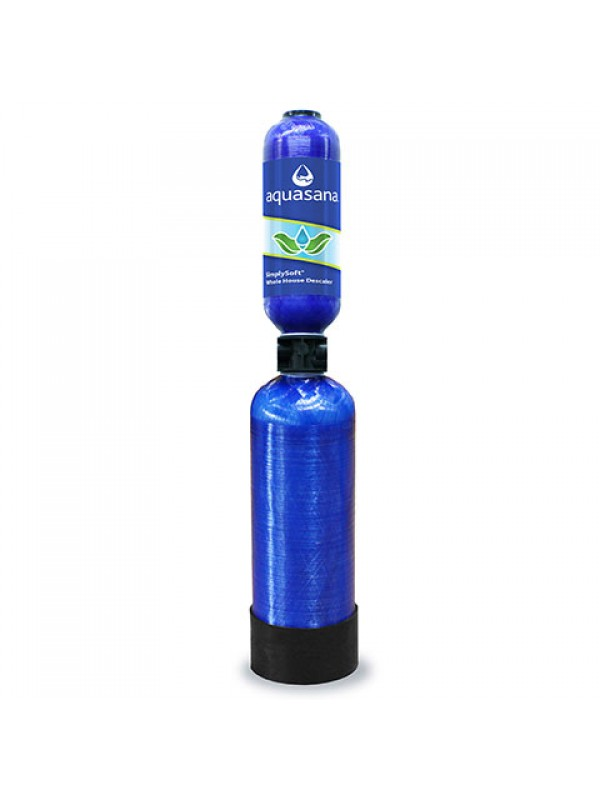 SIMPLYSOFT SALT-FREE WATER SOFTENER - USE UP TO 2,000,000 LITERS - 6 YEAR WARRANTY