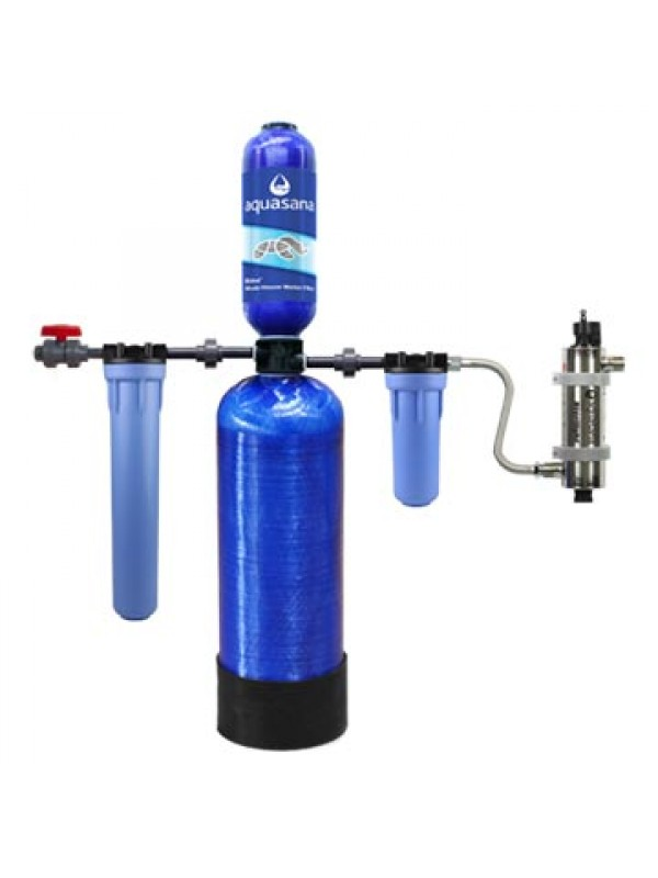 WELL WATER FILTER SYSTEM 5 YEARS - 2,250,000 LITERS (WITH UV LAMP)